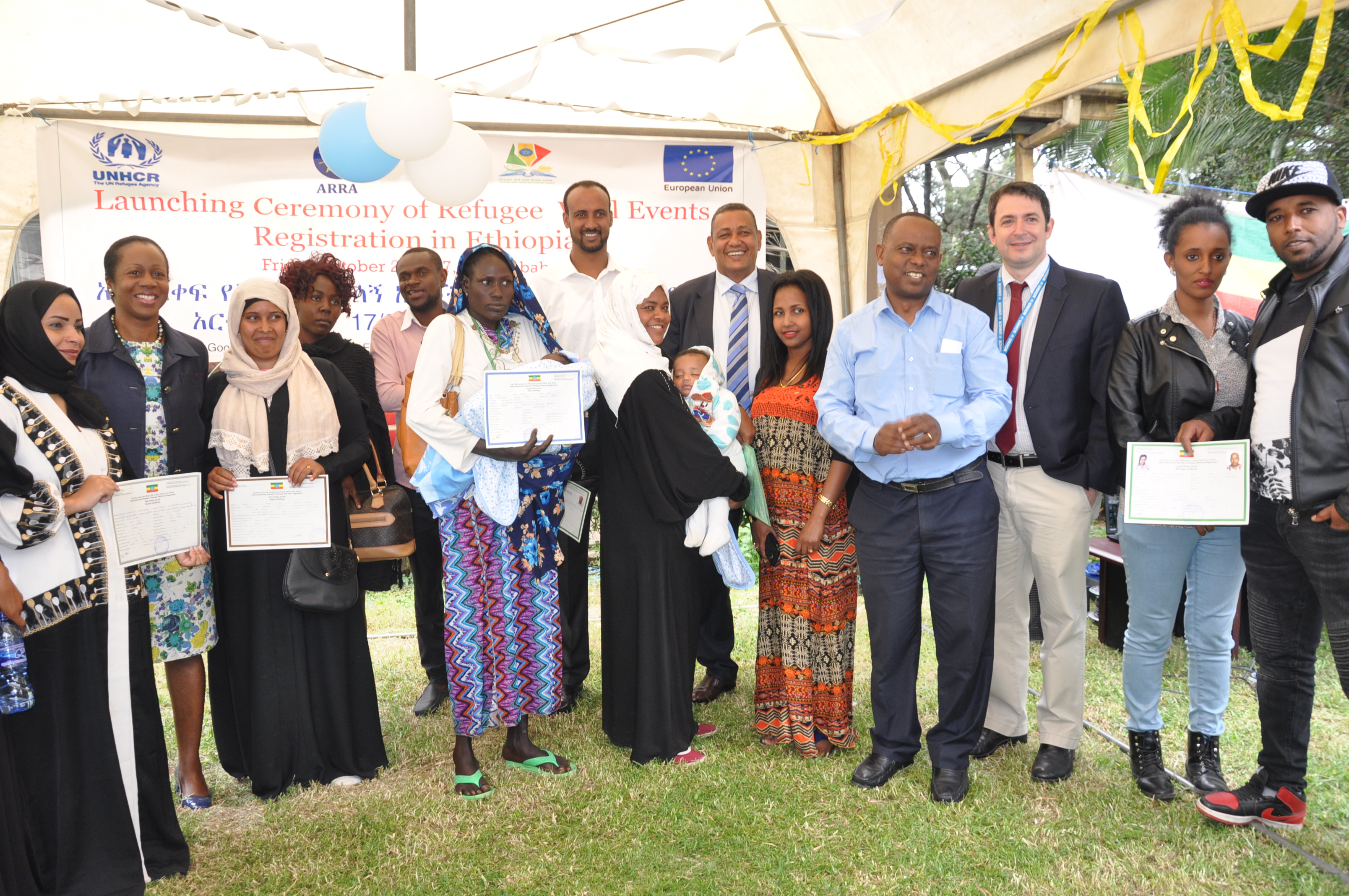 A Historic Launch of Refugee Civil Registration in Ethiopia