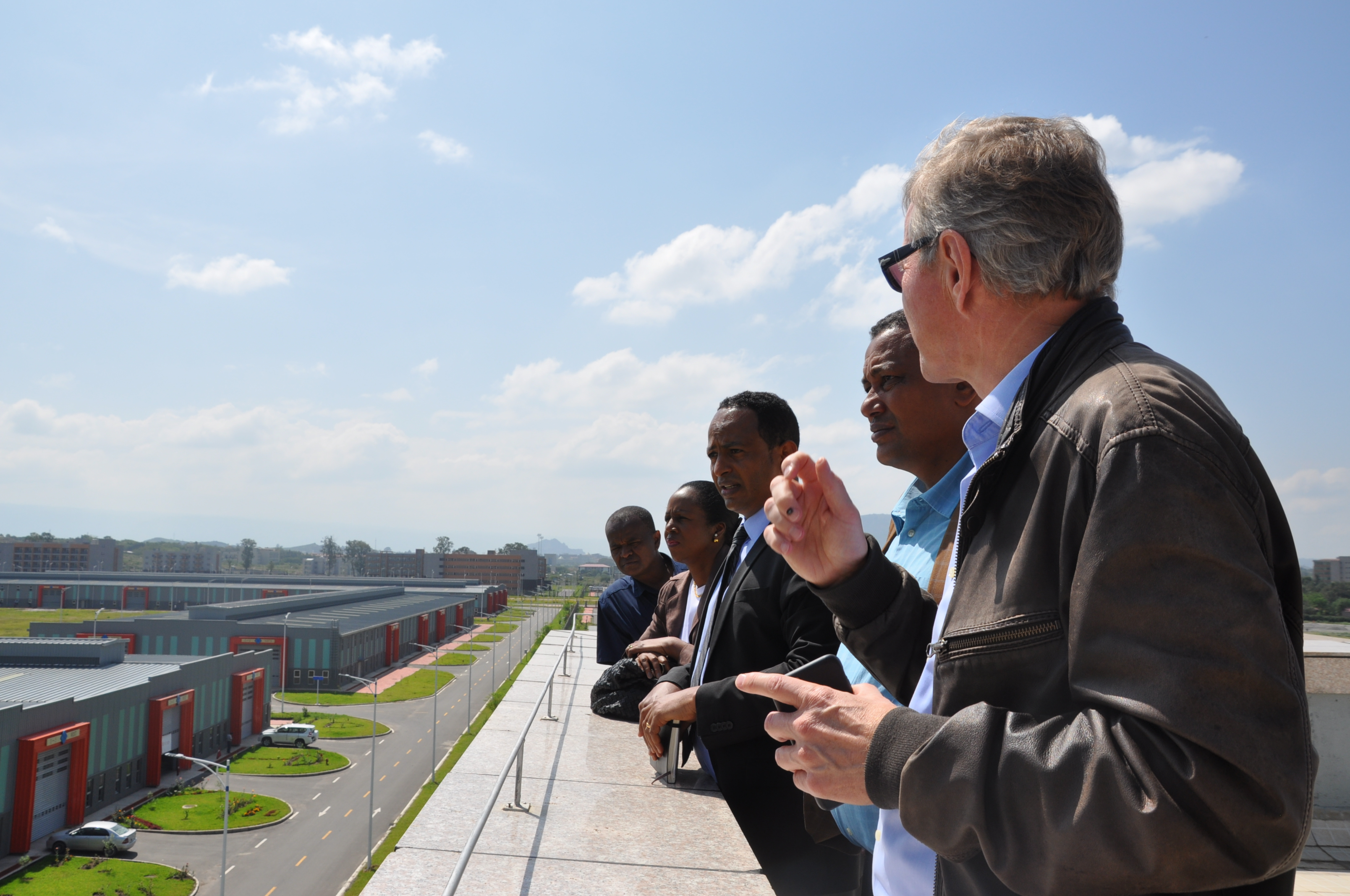 IKEA Foundation CEO Per Heggenes visits Hawassa Industrial Park
